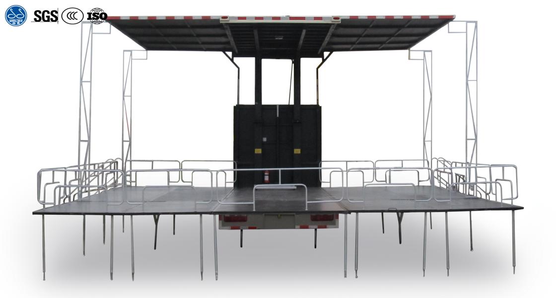 Three Side Stage Truck