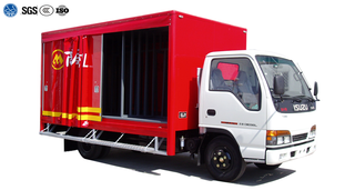 Curtain Side Truck