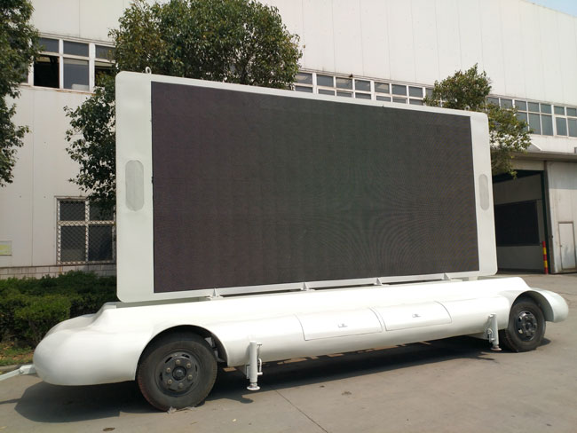 Swan LED Advertising Truck Has Been Exported to Saudi Arabia
