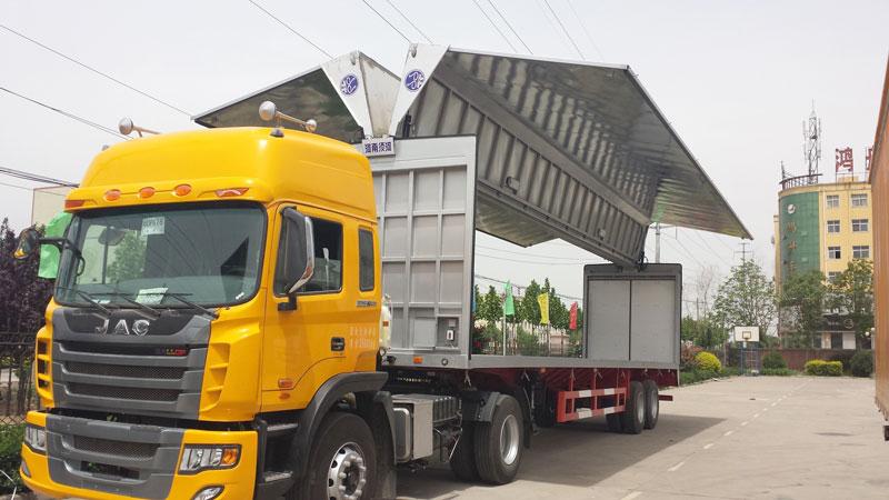 10 wheeler wing van truck sale