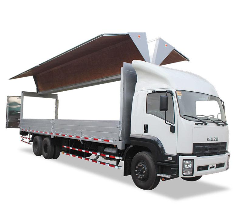 isuzu wing van truck