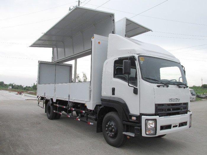 wing van truck price